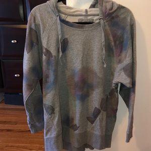 DKNY gray hoodie